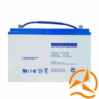 Batterie solaire AGM sans entretien 12 Volts 100 Ah