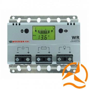 Régulateur de charge 10 Ampères 12-24 Volts avec afficheur LCD et détecteur crépusculaire (Fabrication Européenne)