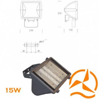 Projecteur extérieur gamme pro - 12LED-15W-110-230VAC