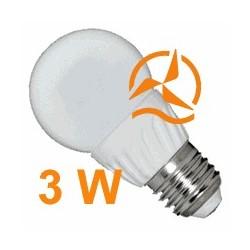 Nouvelle ampoule LED 3W 12V E27 dissipateur thermique céramique ultra économique blanc