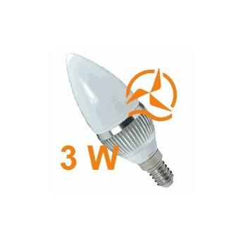 Nouvelle ampoule LED 3W 12V E14 dissipateur thermique aluminium ultra économique blanc