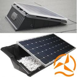 syst me de fixation pour panneau solaire renusol console streamliner. Black Bedroom Furniture Sets. Home Design Ideas