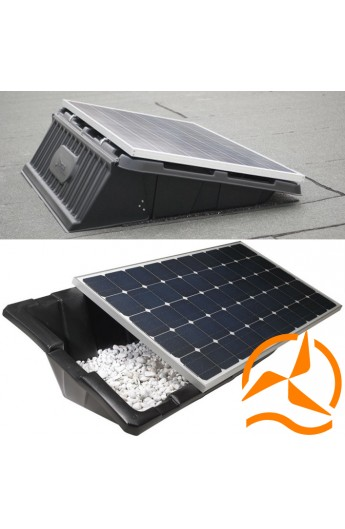 syst me de fixation pour panneau solaire renusol console. Black Bedroom Furniture Sets. Home Design Ideas