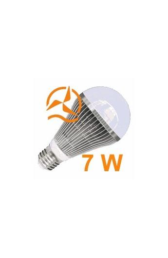 nouvelle ampoule led 7w 12v e27 dissipateur thermique aluminium ultra conomique blanc. Black Bedroom Furniture Sets. Home Design Ideas
