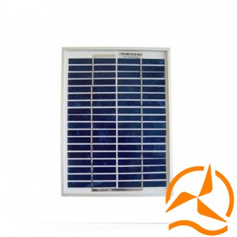 Panneau solaire polycristallin 5 Watts 12 Volts haut rendement
