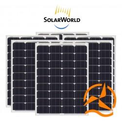Lot de 6 panneaux solaires monocristallin 80Wc 12V SolarWorld