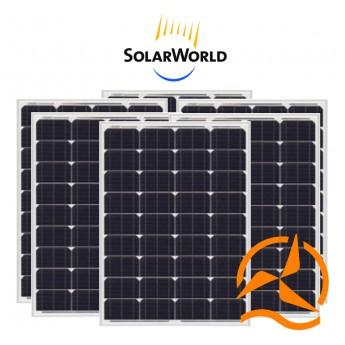 Panneau solaire monocristallin lot de 6 panneaux solaires 80Wc 12V SolarWorld