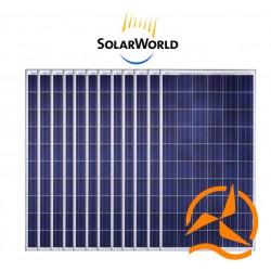 Lot de 12 panneaux solaires polycristallin 260Wc 24V SolarWorld