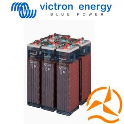 Lot de 6 batteries ouvertes OPzS 2 Volts 3040 Ah très longue durée de vie - spéciales applications solaires