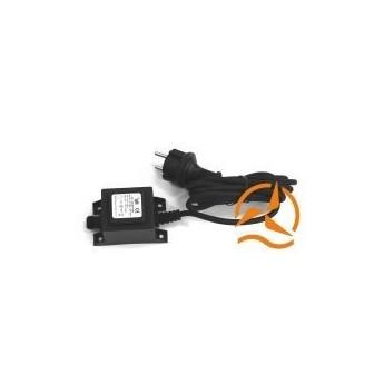 Transfo alimentation étanche spot 220 Volts vers 12 Volts AC 20 Watts