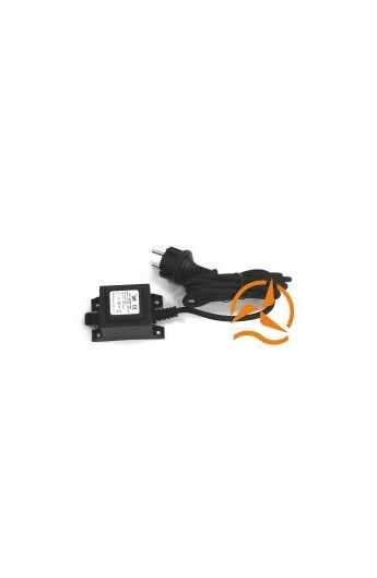 transfo alimentation tanche spot 220 volts vers 12 volts ac 20 watts. Black Bedroom Furniture Sets. Home Design Ideas