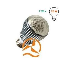 Ampoule spot 5 LEDs 220 Volts culot E27 360 degrés éclairage ultra blanc nouveau design