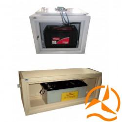 Coffrets pour batteries - BOX tailles S et M