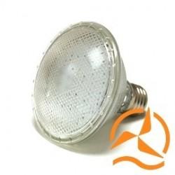 Ampoule spot PAR30 50 LEDs 220 Volts culot E27 éclairage blanc