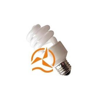 Ampoule fluocompacte 24 Volts 15 Watts culot E27