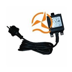 Transfo alimentation étanche spot 220 Volts vers 12 Volts AC 40 Watts