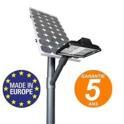 Lampadaire solaire 4,5m lanterne LED fabrication Européenne