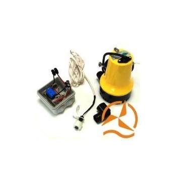 Kit vide cave ou vide cale solaire complet 70 L/min avec flotteur