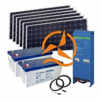 Kit autoconsommation solaire 3500Wh/j