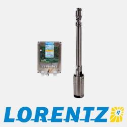 Pompe submersible solaire LORENTZ PS200 HR - Max 50m