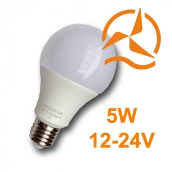Ampoule LED 5W 12V-24V Blanc Chaud