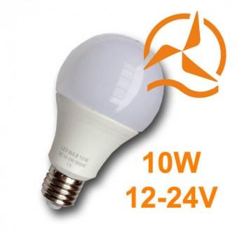 Ampoule LED 10W 12V-24V Blanc Chaud