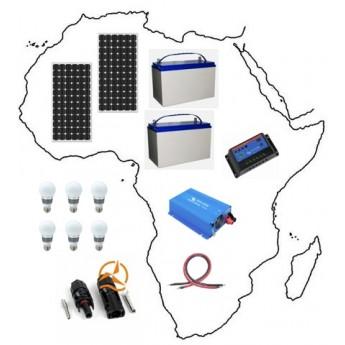 Kit solaire complet Afrique 1470 Wh à 2100 Wh Grande Puisance