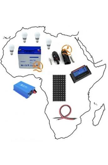kit solaire complet afrique 350 wh 500 wh petite puissance. Black Bedroom Furniture Sets. Home Design Ideas