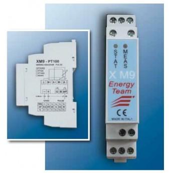 XM9 – Module Din pour l'obtention de température sondes PT100/500/1000