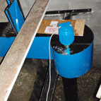 Hydro turbine à hélices de 1000W