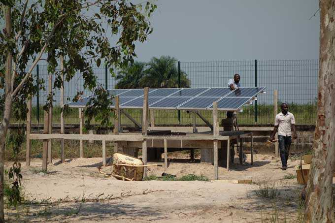 Installation solaire à Brazzaville au Congo - Energiedouce