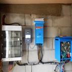 Installation solaire photovoltaïque site isolé Valras 2