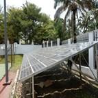 Installation back-up solaire système de télécommunications satellite au Congo 1