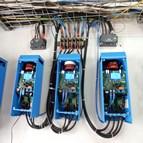 Installation back-up solaire système de télécommunications satellite au Congo 2