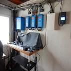 Installation back-up solaire système de télécommunications satellite au Congo 3