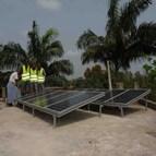 Installation solaire photovoltaïque autonome au Bénin 1