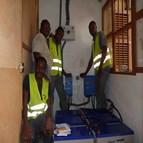Installation solaire photovoltaïque autonome au Bénin 2