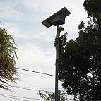 Lampadaire solaire pour l'éclairage public à Abidjan - Côte d'Ivoire – 2017-2