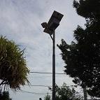 Lampadaire solaire pour l'éclairage public à Abidjan - Côte d'Ivoire - 2016