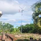 Habitation en site isolé à Madagascar