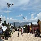 haiti lampadaires solaires