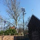 Lampadaires solaires installés à Valenciennes