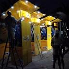 Energiedouce - Kiosques lumineux MTN Coupe du Monde 2010 Côte d'Ivoire 2