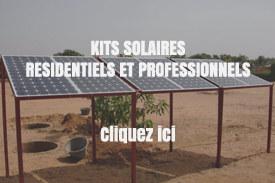 Kits solaires spécial Afrique