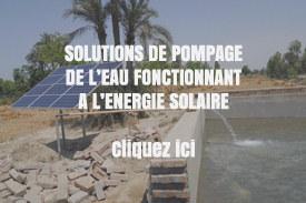 Kits pompage solaire spécial Afrique