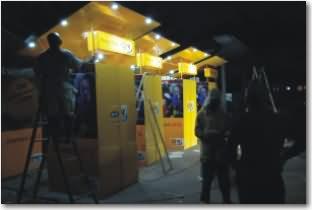 Vérification allumage des kiosques