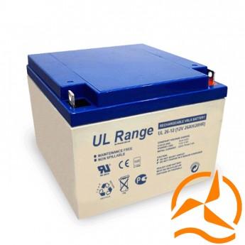Batterie solaire AGM sans entretien 12 Volts 28 Ah