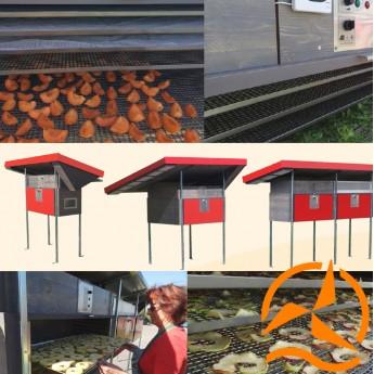 Séchoir Solaire Professionel Multifonctions pour le séchage de fruits, herbes, fleurs, poissons et viandes