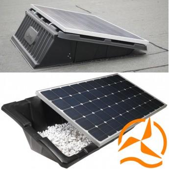 Système de fixation pour panneau solaire au sol Renusol console +