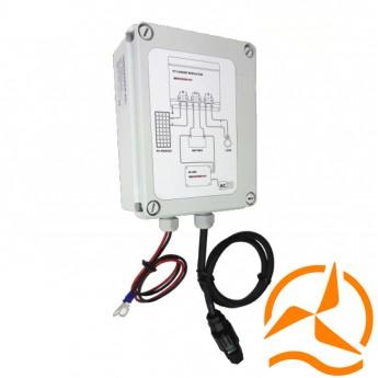 Système hybride de recharge de batterie 100W 12 Volts pour lampadaire solaire